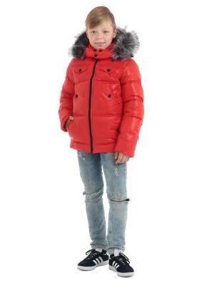 Куртка TOPKLAER. Цвет: красный