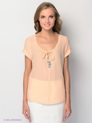 Блузка Aaiko. Цвет: персиковый