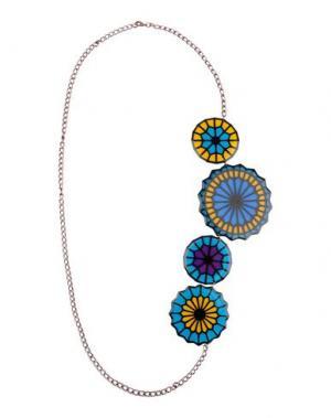 Ожерелье MIAHATAMI. Цвет: бирюзовый