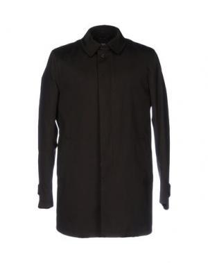 Легкое пальто ANGELO NARDELLI. Цвет: темно-коричневый
