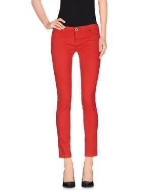 Повседневные брюки TAKESHY KUROSAWA. Цвет: красный