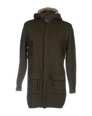 Куртка TOM & HAWK. Цвет: зеленый-милитари