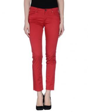 Повседневные брюки FAIRLY. Цвет: красный
