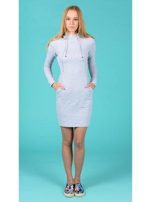 Платье Hoodie MA Grey Melange Mini MilkyMama