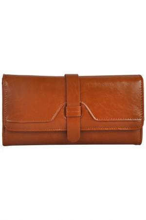 Бумажник MATILDA ITALY. Цвет: коричневый