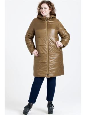 Пальто Modress. Цвет: бронзовый