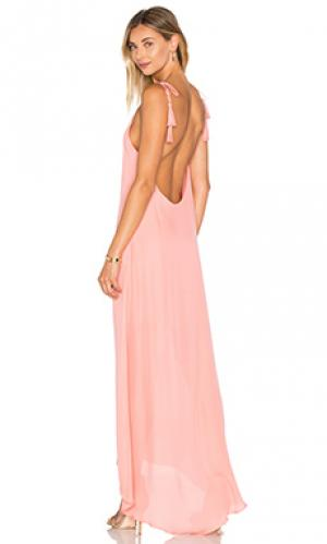 Вечернее платье nelli Rory Beca. Цвет: коралл