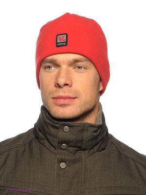 Шапка Viking caps&gloves. Цвет: красный
