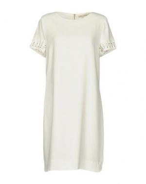 Короткое платье GERARD DAREL. Цвет: белый