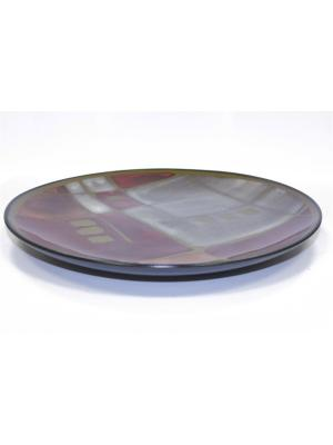 Тарелка Маргарита 27 см Elff Ceramics. Цвет: коричневый, серый