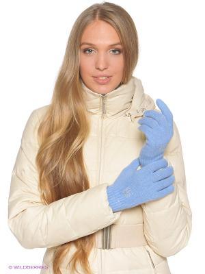 Перчатки Baon. Цвет: голубой