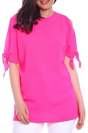 Блуза Emma Monti. Цвет: розовый