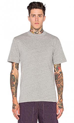 Классическая футболка Wil Fry. Цвет: серый