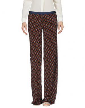 Повседневные брюки SIYU. Цвет: темно-синий