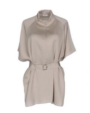 Блузка FILIPPA K. Цвет: светло-серый