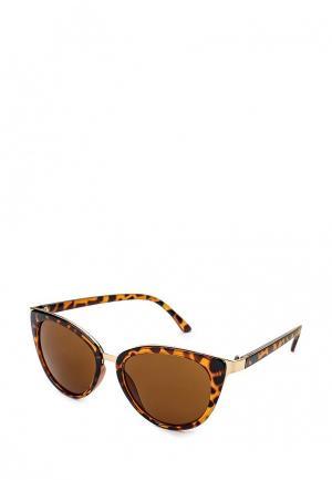 Очки солнцезащитные Infinity Lingerie. Цвет: коричневый