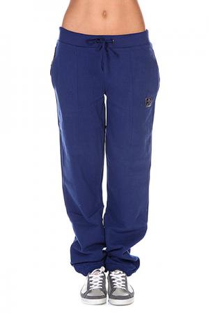 Штаны широкие женские  Ness Dark Blue Picture Organic. Цвет: синий