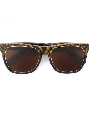 Солнцезащитные очки Classic Costiera Retrosuperfuture. Цвет: коричневый
