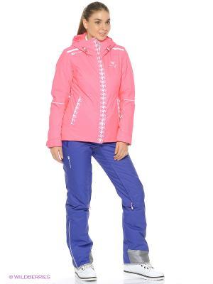Куртка Stayer. Цвет: белый, коралловый