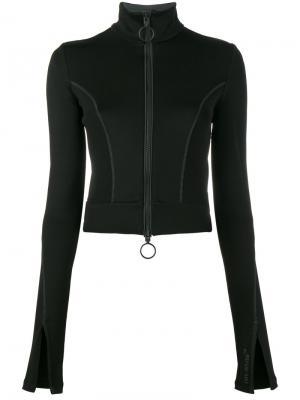 Куртка на молнии Athleisure Off-White. Цвет: чёрный