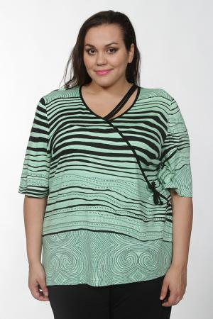 Блуза CHALOU. Цвет: зеленый