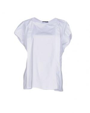 Блузка NEW YORK INDUSTRIE. Цвет: белый