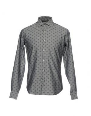 Pубашка BARBATI. Цвет: серый