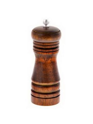 Мельница для специй деревянная темная 14см Vetta. Цвет: коричневый