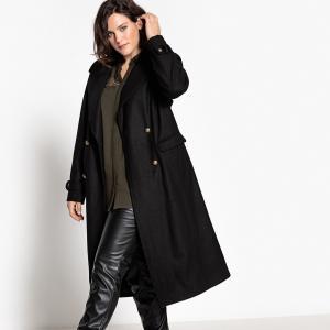 Пальто CASTALUNA. Цвет: хаки,черный