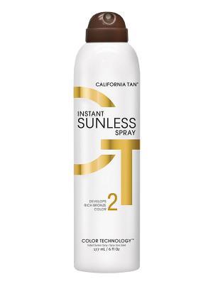 Спрей для автозагара Instant Sunless Spray (177 мл) California Tan. Цвет: бежевый