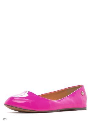 Балетки LINO MORANO. Цвет: розовый