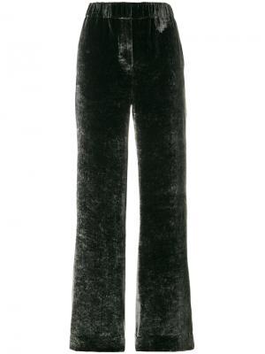 Свободные брюки Incotex. Цвет: серый