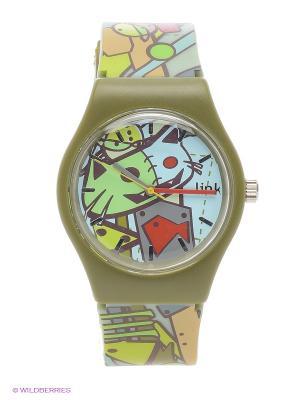 Часы Link - Tramp Kawaii Factory. Цвет: зеленый