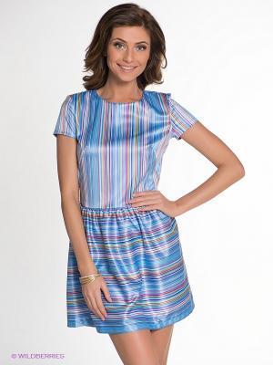 Платье Allezye. Цвет: голубой