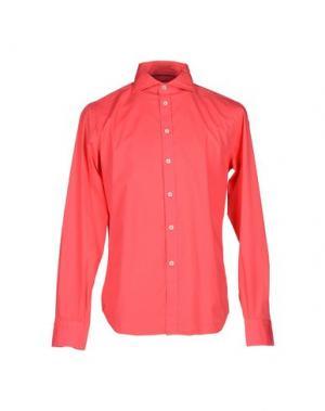 Pубашка BRANCACCIO C.. Цвет: коралловый