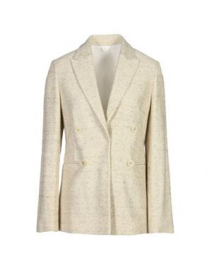 Пиджак BRUNELLO CUCINELLI. Цвет: бежевый