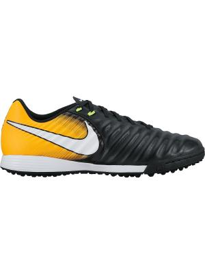 Бутсы TIEMPOX LIGERA IV TF Nike. Цвет: черный