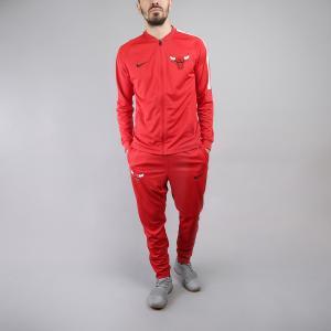 Спортивный Костюм Nike. Цвет: красный