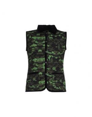Куртка LEITMOTIV. Цвет: зеленый-милитари