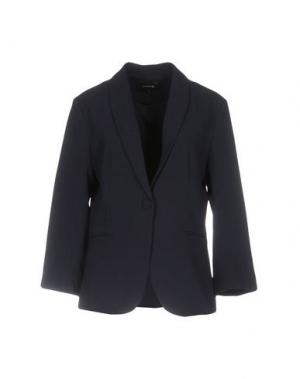 Пиджак ANONYME DESIGNERS. Цвет: темно-синий