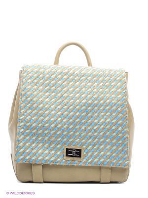 Сумка-рюкзак Pola. Цвет: бежевый