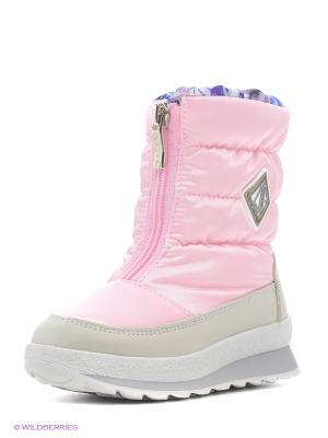 Дутики Jog Dog. Цвет: розовый