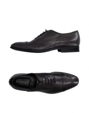 Обувь на шнурках CORVARI. Цвет: стальной серый
