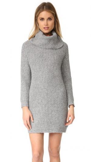 Платье-свитер Ventura cupcakes and cashmere. Цвет: серый меланж