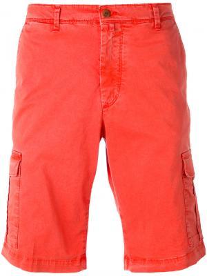 Шорты карго Briglia 1949. Цвет: красный