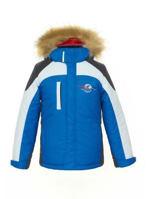 Куртка AVESE. Цвет: индиго
