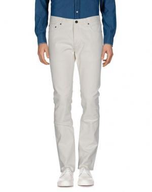 Повседневные брюки JOHN VARVATOS. Цвет: белый