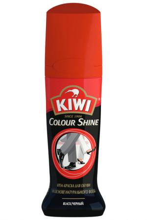 Жидкий крем-блеск KIWI. Цвет: черный