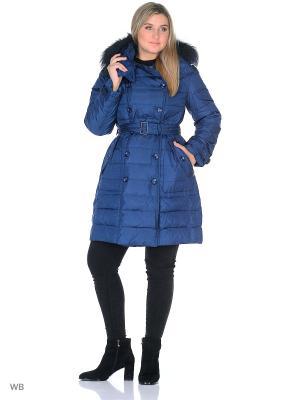 Пальто Romantic Collection.. Цвет: темно-синий