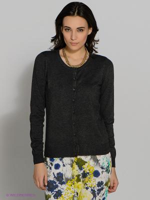 Кардиган Vero moda. Цвет: темно-серый